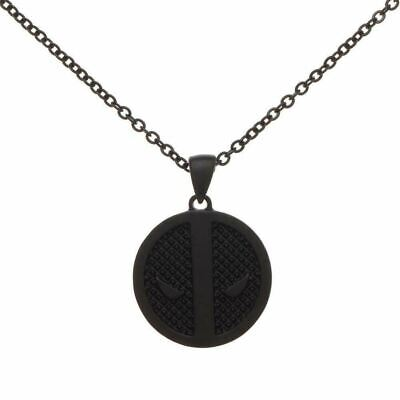 Deadpool Black Logo Necklace