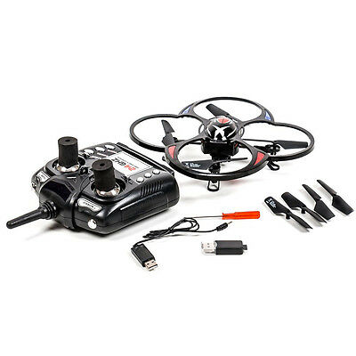 Drone Quadricottero 6 Assi Camera Foto Video Luci LED 2.4GHZ 4CH Radiocomandato