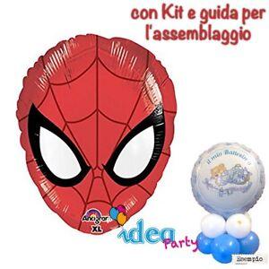 ... con PALLONCINO MYLAR SPIDERMAN, Addobbi Festa compleanno tavola  eBay