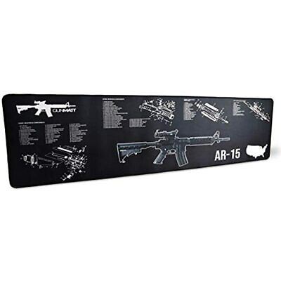 GUNMATT Gun Cleaning Mat For Ar-15 Rifle, Shotgun And Handgun 3mm Thick Sized