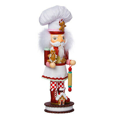"[Kurt Adler Hollywood Nutcracker - Gingerbread Chef Christmas Nutcracker 15""   </Title]"