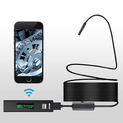 2 5 10 M Led Wireless Endoscope Wifi Borescope Inspection Camera For Ios Android