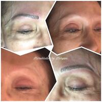 Look the best with Microblading ($279 holiday special)
