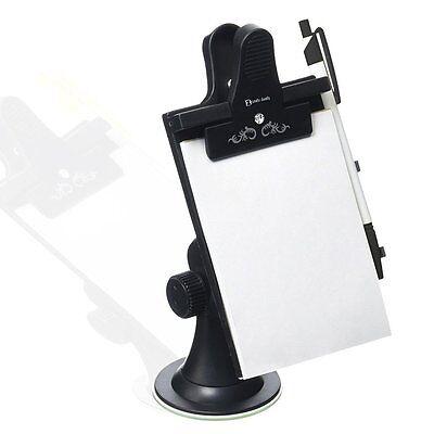 Zento Deals Car Note Memo Pad Paper Pad Clip Board Suction Cups Window Holder - Memo Pad Clipboard