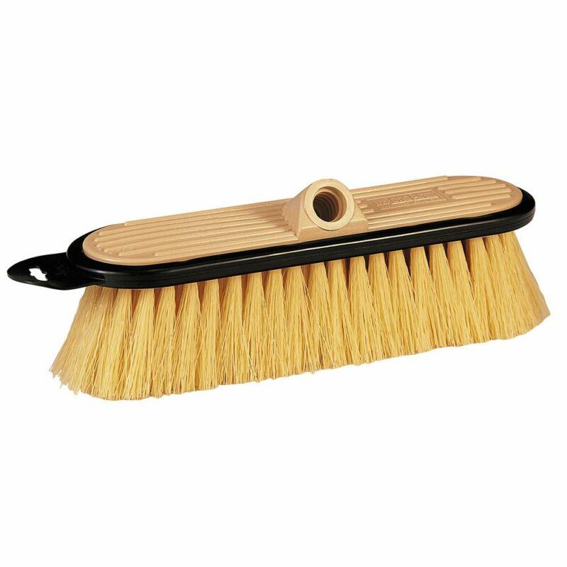 Mr. LongArm 0406 Stiff Flow-Thru Brush Tan