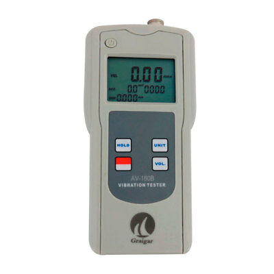 Digital Vibration Tester Av-160b Vibration Meter With Software And Usb Cable