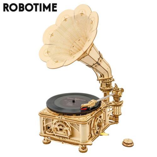Antique Working Gramophone Player Original Vintage Phonograph Record Player US