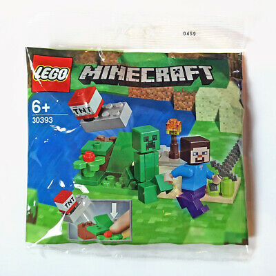 LEGO - Minecraft Steve and Creeper (30393) - Polybag set NEW & Sealed