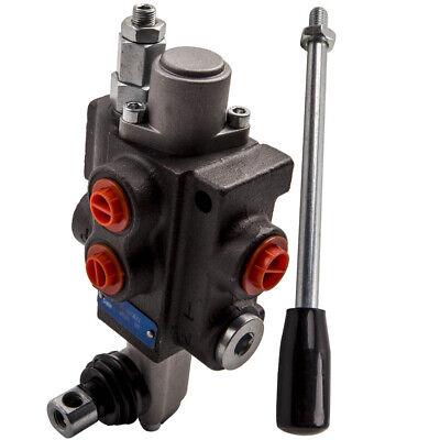 1 Spool Hydraulic Directional Control Valve 11gpm 4300psi Log Splitters Motors