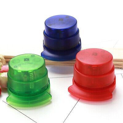 Stapler Paper Binding Staple Free Stapleless Binder Paperclip For Office Home