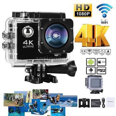 WiFi Ultra 4K HD 1080P 16MP Waterproof Sports DV Action Cam Camera DVR Camcorder