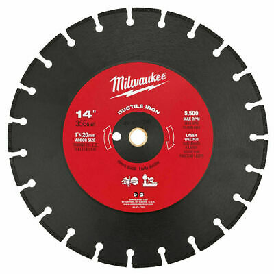 Milwaukee 49-93-7340 14 in. Ductile Iron Segmented Saw Blade