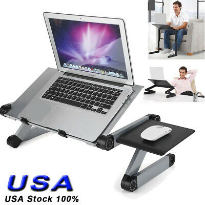 360° Adjustable Foldable Laptop Notebook Desk Table Stand Bed Sofa Holder Tray