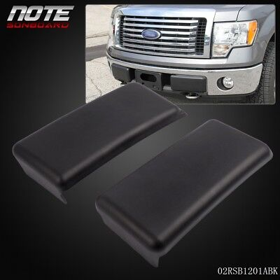 - For 2009-2014 FORD F150 09-14 Front Bumper Guards Pads Caps Inserts LH + RH Set
