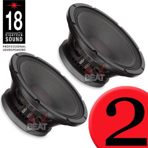 18 Sound 12MB700 Very High Output Mid-Bass Ferrite Transducer 450W, PAIR (2 pcs)