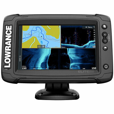 Lowrance 000-14638-001 Elite-7 Ti� Combo Active Imaging 3-In-1 Transom Mount