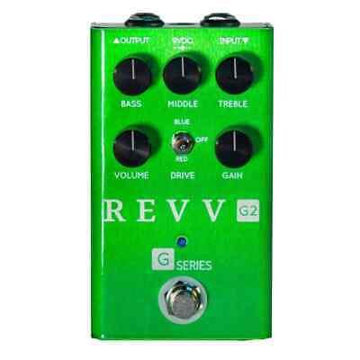 Revv G2 Pedal - Crunch & Overdrive