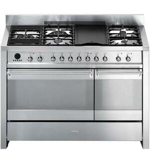 Smeg Opera Series A3XU6 48in Dual Fuel Range Stainless Steel Buy More Save More. Additional upto 15% off Floor unit 20%o