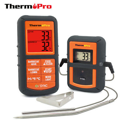 ThermoPro TP08 Wireless Remote Digital Kitchen Cooking Thermometer - Dual Probe