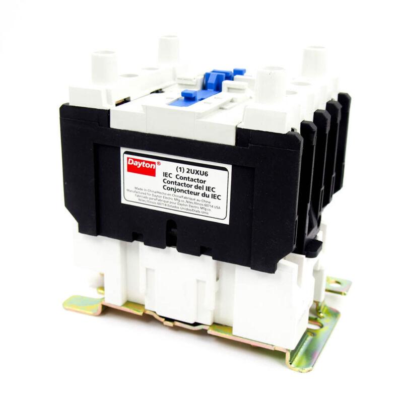 Dayton 240VAC IEC Magnetic Contactor 4 Pole 40 Amp 2NO/2NC Motor Starter 2UXU6