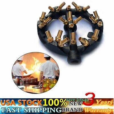 Round Shape Jet Burner Natural Gas 23 Tips Jet Burner Wok Burner65 Mm New