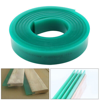 Green Color Screen Printing Squeegee Single 6ft71 Roll 70 Duro Blade
