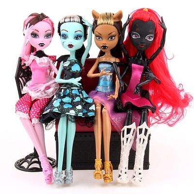 Kids Body Girls Monster Doll Elf Move Joints High Plastic Toys XMAS Gifts