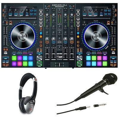Denon MC-7000 Pro DJ Controller with 2 USB Ports