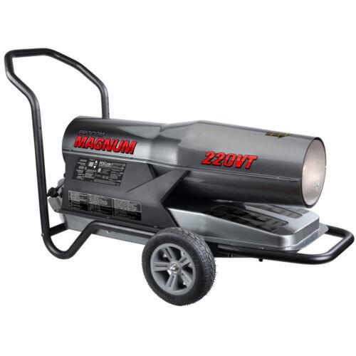 ProCom Kerosene/Diesel Forced Air Heater - 160,000-220,000 BTU, Multifuel