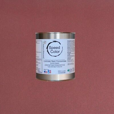 Fast Drying Concrete Paint 24oz Concentrate Yields 1 Gallon Red Brick Color