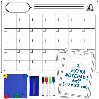 Kit Lavagna Calendario Magnetico Mensile - Lavagnetta Magnetica Monthly