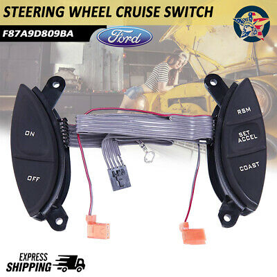 Steering Wheel Cruise Control Switch For Ford Explorer Sport Trac Ranger 98-05