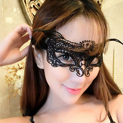Slinky Lady Halloween Party Fox Mask Nightclub Bar Lace Cat Face Animal Festival - Halloween Nightclub Party