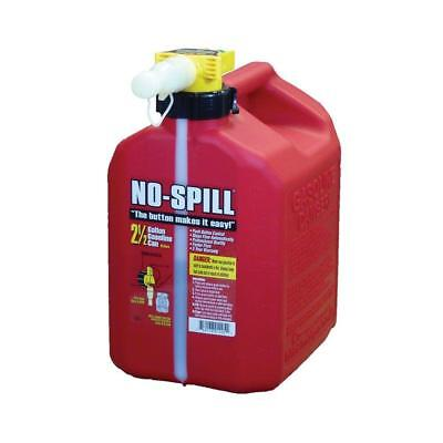 No-spill 1405 Poly Gasoline Fuel Can Carb Epa Compliant 2-12 Gallon