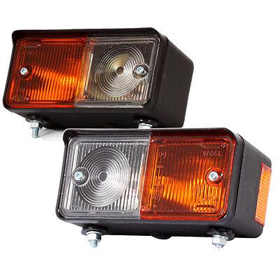 2x  Positionsleuchte Blinker Standlicht 12V/24V Traktor Schlepper Ursus