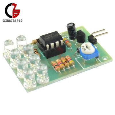 12v Breathe Light Led Flashing Lamp Parts Electronic Module Lm358 Chip 8 Led Diy