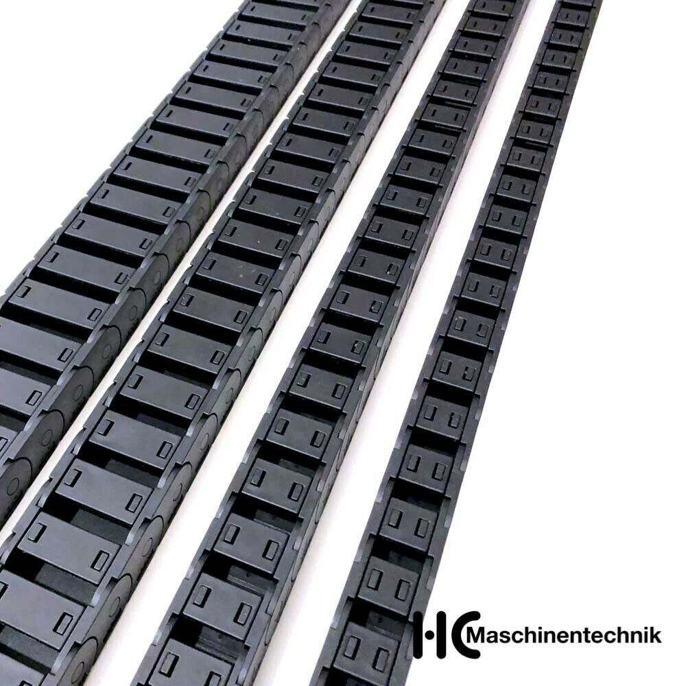 Energiekette H=15mm x 15, 20, 30, 40, 50 mm, Kabelführung Schleppkette, CNC
