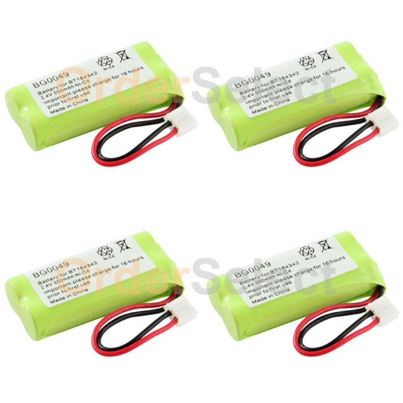 4x Home Phone Battery for AT&T Lucent BT18433 BT184342 BT28433 BT284342 100+SOLD