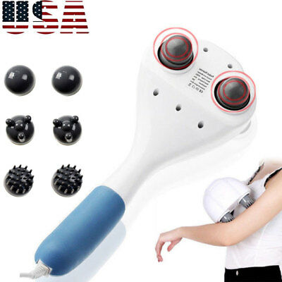 Full Body Electric Handheld Massager Wand Back Neck Percussion Vibrating Machine