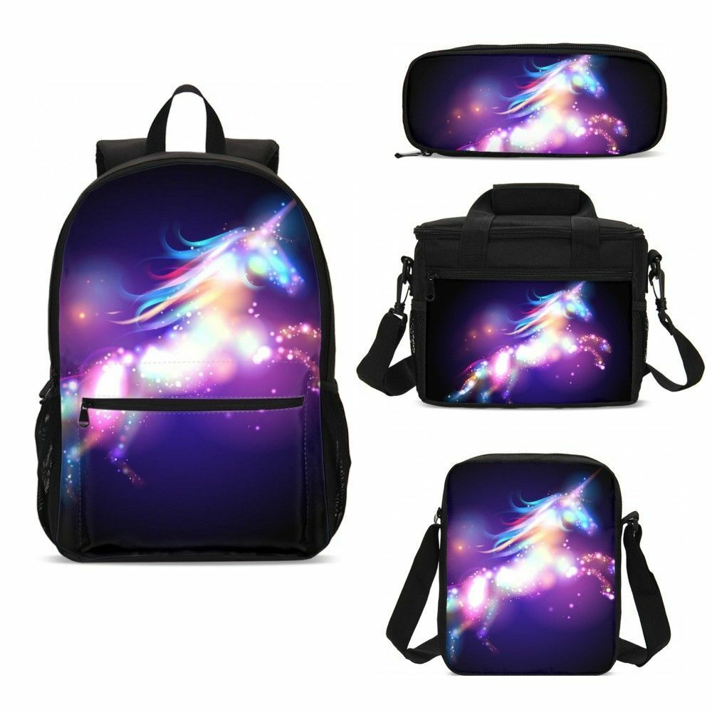 Rainbow Galaxy Unicorns Pencil Case