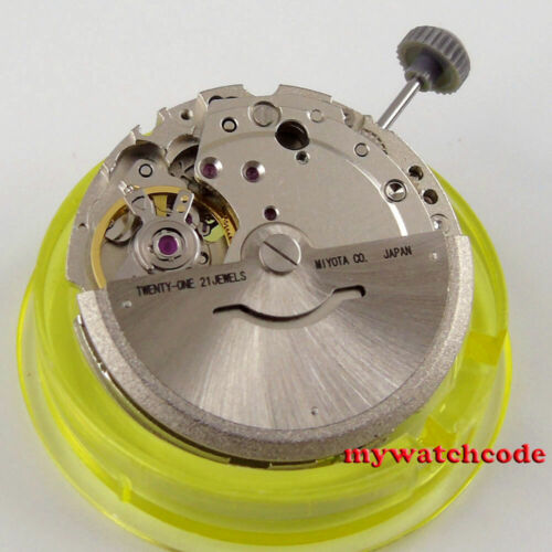 New edition 21 jewels miyota 8215 date window automatic mechanical movement