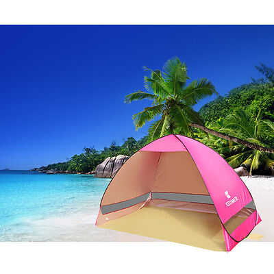Pop Up Portable Beach Canopy Sun Shade Shelter 2 Person Camping Fishing Tent