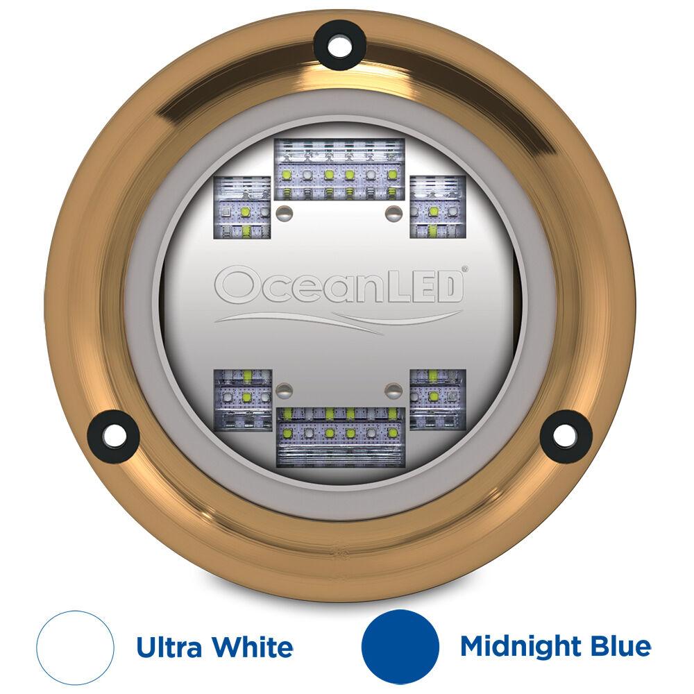 Ocean LED Sport S3124s Underwater Light Ultra White Midnight Blue Boat 012103BW