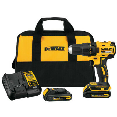 DEWALT 20V MAX Li-Ion Compact Brushless Drill Driver Kit DCD777C2 Recon - Li Ion Drill Driver