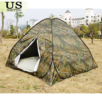 3-4 Person Outdoor Camping Waterproof Automatic Instant Pop Up Tent Camouflage