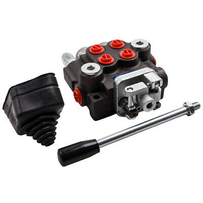 New Hydraulic Directional Control Valve For Tractor Loader 2 Spool 11 Gpm