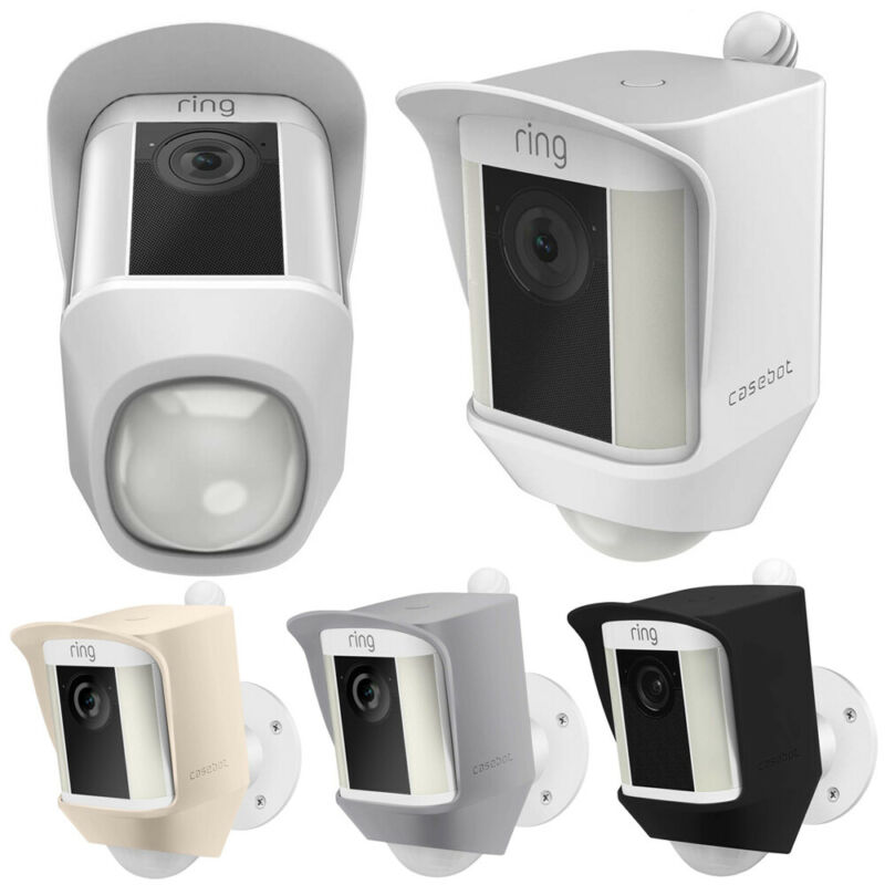 for Ring Spotlight Battery Cam UV Light &Weather Resistant Protective Skin Cover