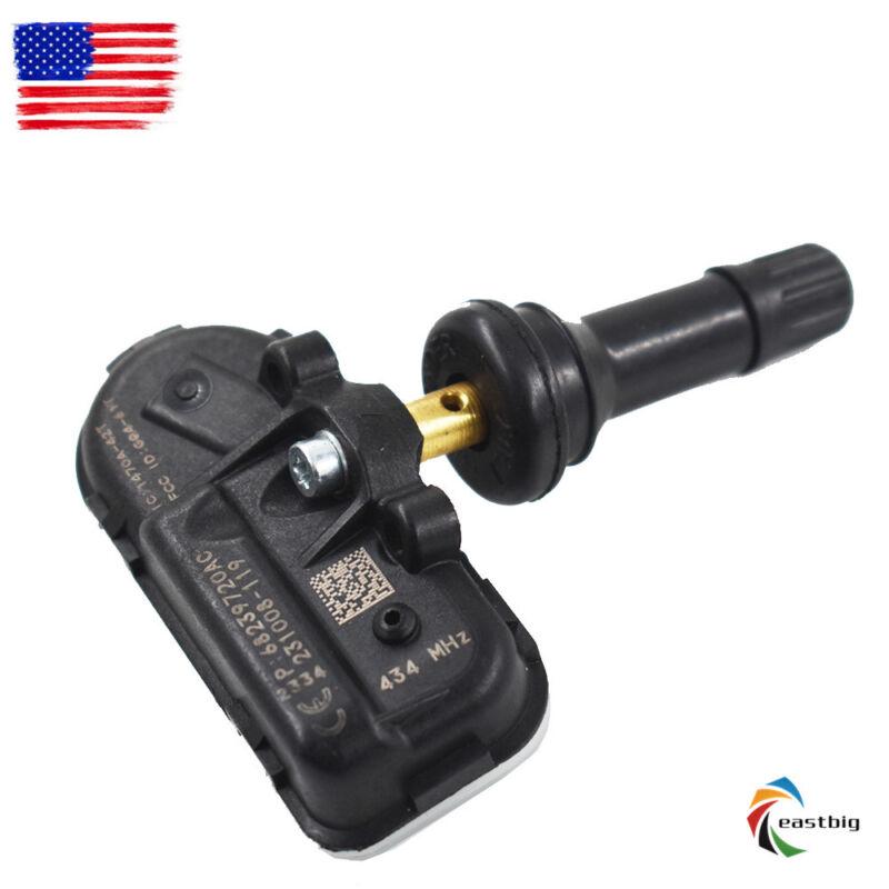 4X TPMS Tire Pressure Monitor Sensor 68249197AA For 14-16 Jeep Cherokee Ram 1500