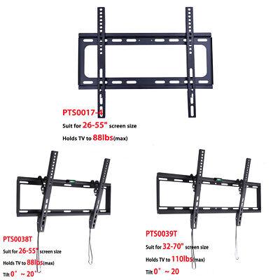 Slim Flat/Tilt TV Wall Mount Bracket 23 26 30 32 37 42 46 50 52 55 60 70