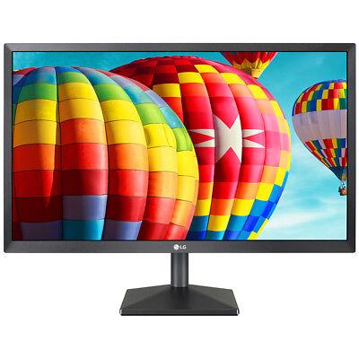 LG 24 Full HD 1920x1080 LED Monitor w/ On Screen Control & Smart Energy Saving